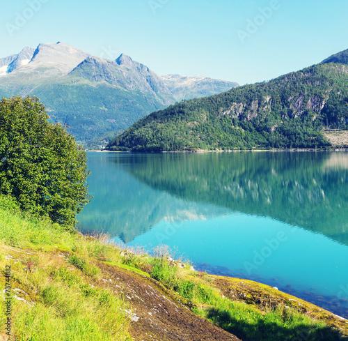 Lake in Norway - 73744882