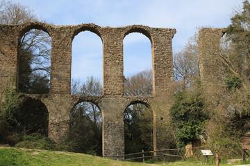 The Roman aqueduct of monterano