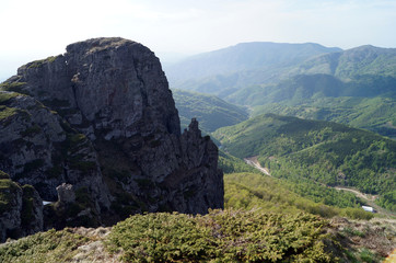View of Babin zub from behind