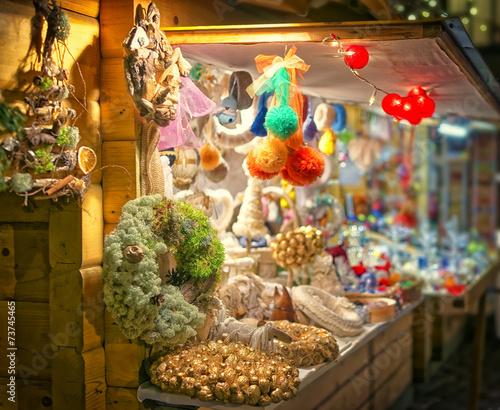 European Christmas market stall2 - 73745465