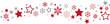 Sternenband rot-grau - 73745852