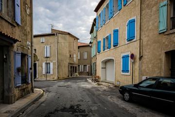 Gruissan's street