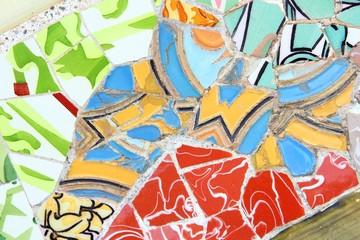 Barcelona art - Park Guell (Gaudi art)