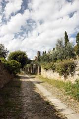 Cortona medieval Tuscan town