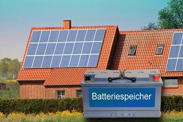 Batteriespeicher für PV-Anlagen, Energiespeicher