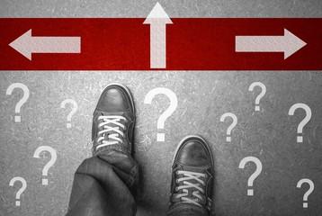 Richtungsentscheidung Konzept