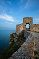 Kaliakra old fortress shore