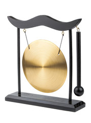 Decorative bronze gong
