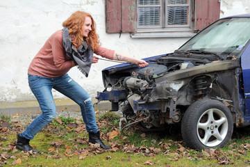 Das kaputte Auto