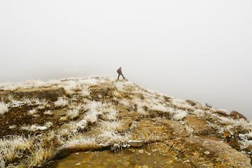 sisli dağlarda gezmek