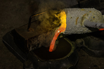 Metal Casting in a Foundry