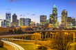 Charlotte, North Carolina City Skyline