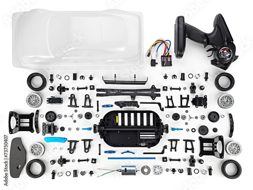 RC car assembly kit - 73750407