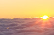 sunrise above the clouds - 73751094
