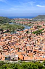 Sardegna, Bosa, panoramica