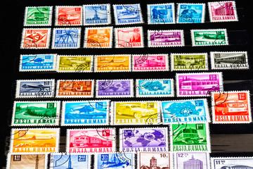 Posta Romana stamp