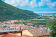 cityscape of Bosa, Sardinia