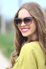 smile portrait model