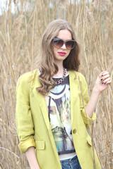 female model fashion