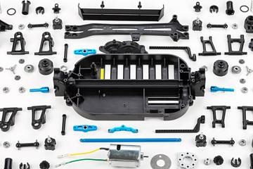RC car assembly kit