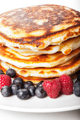 Pancakes e frutti di bosco