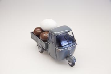 Pasqua, Ovetti, Cioccolata, Giocattolo