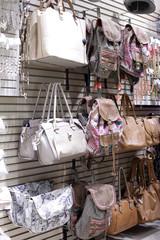 brand new interior of accessories store
