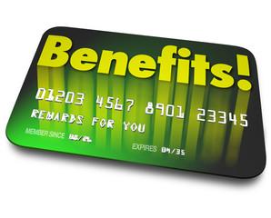Benefits Word Credit Card Rewards Program Shopper Loyalty