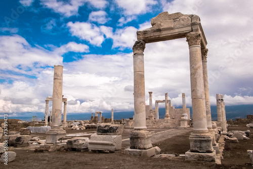 In de dag Turkey Ruins of Laodicea