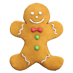 Gingerbread Man Christmas Icon
