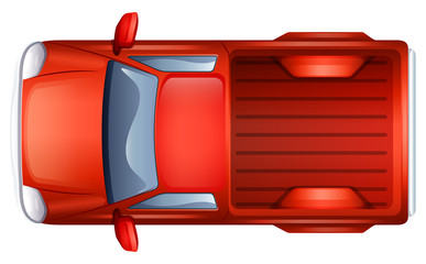 A pick-up vehicle