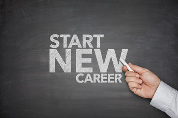 Start new career on Blackboard