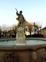 St.Georgsbrunnen in Friedberg