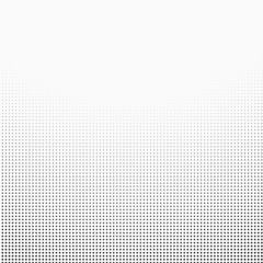 halftone dotted gradient  background black white