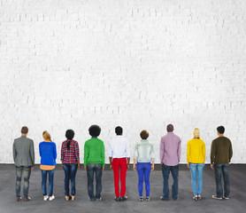 Multi Ethnic Diversity Ethnicity Friendship Concept