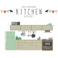 Kitchen (White Background)