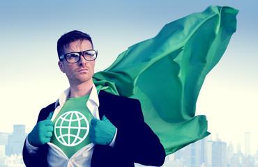 Global Strong Superhero Professional Empowerment C
