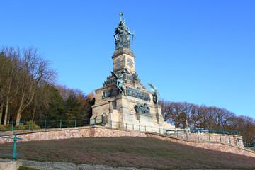 Rüdesheim, Niederwalddenkmal (November 2014)