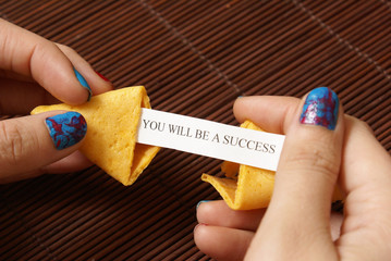 Opening A Fortune Cookie