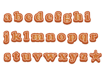アルファベットクッキー