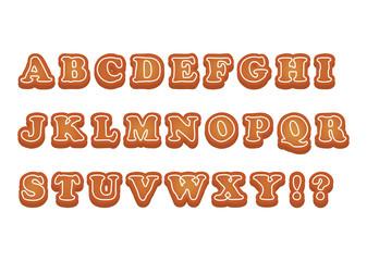 アルファベットクッキー大文字