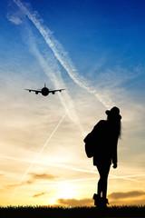 girl traveling
