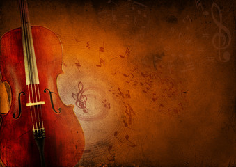 Viola Music Background