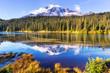 canvas print picture - Mt.Rainier