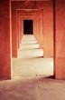Hallway at the Taj Mahal in India