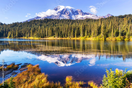 canvas print picture Mt.Rainier