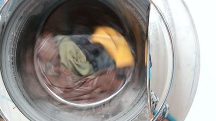 Washing machines are working