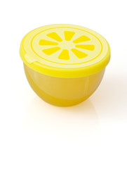 Fridge freshener with lemon smell