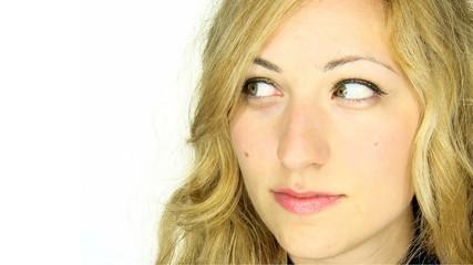 Close-up girl