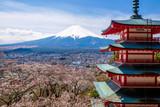Fotoroleta The mount Fuji, Japan